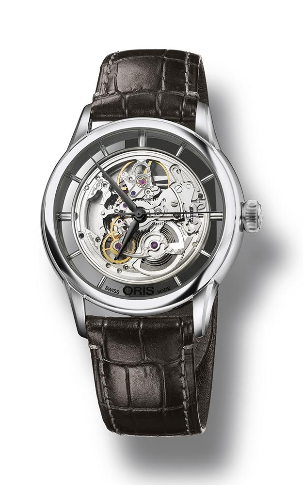 Oris Culture Artelier Translucent Skeleton Watch 01 734 7684 4051-07 5 21 70FC product image