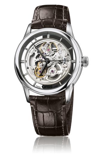 Oris Culture Artelier Translucent Skeleton Watch 01 734 7684 4051-07 1 21 73FC product image
