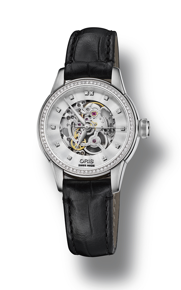Oris Artelier Skeleton Diamonds Watch 01 560 7687 4919-07 5 14 60FC product image