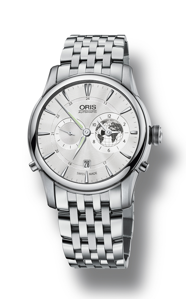 Oris Culture Artelier Greenwich Mean Time Limited Edition Watch 01 690 7690 4081-07 8 22 77 product image