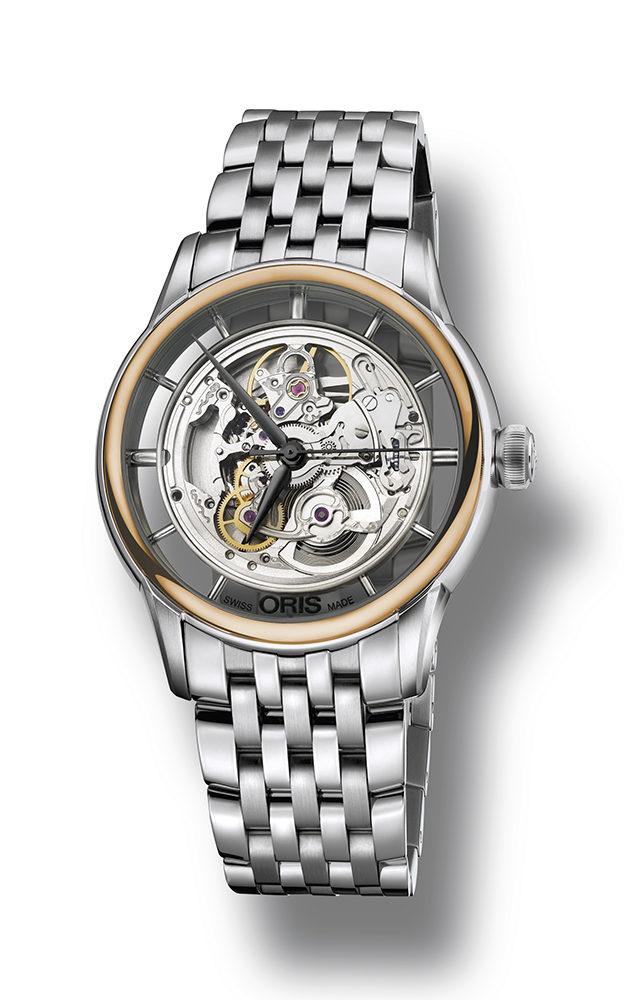 Oris Culture Artelier Translucent Skeleton Watch 01 734 7684 6351-07 8 21 77 product image
