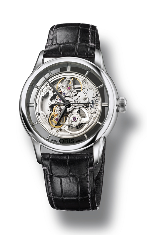 Oris Culture Artelier Translucent Skeleton Watch 01 734 7684 4051-07 5 21 71FC product image