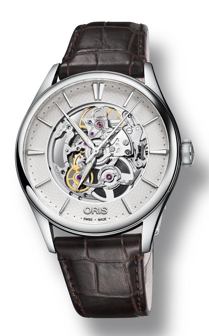 Oris Culture Artelier Skeleton Watch 01 734 7721 4051-07 5 21 65FC product image