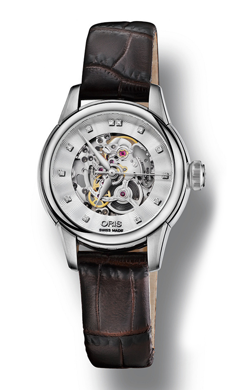 Oris Artelier Skeleton Diamonds Watch 01 560 7687 4019-07 5 14 70FC product image