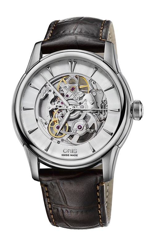 Oris Culture Artelier Skeleton Watch 01 734 7670 4051-07 5 21 48 product image