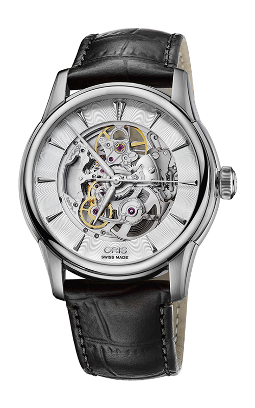 Oris Artelier Skeleton Watch 01 734 7670 4051-07 5 21 71FC product image