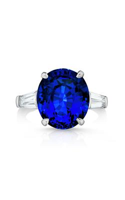 Oscar Heyman Platinum Sapphire & Diamond Ring 301524 product image