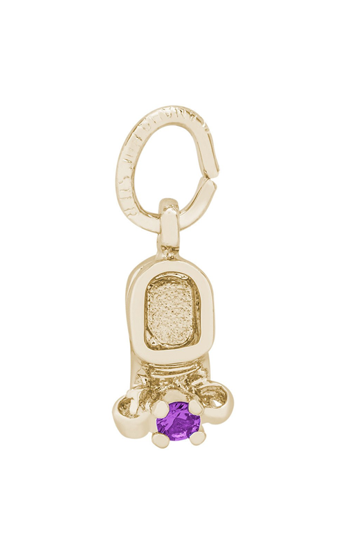 Rembrandt Charms Baby Shoe Charm 0473-02 product image