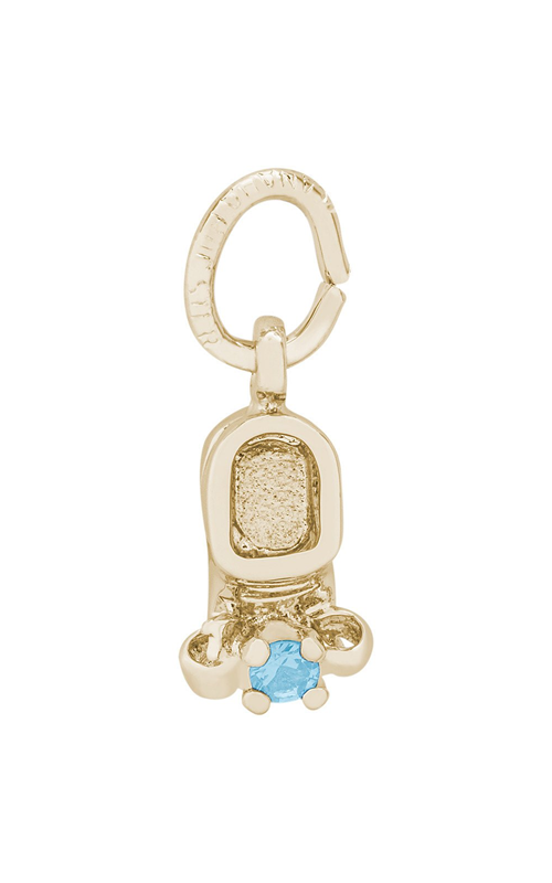 Rembrandt Charms Baby Shoe Charm 0473-03 product image