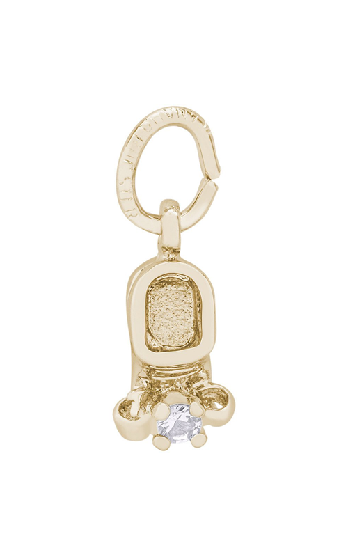 Rembrandt Charms Baby Shoe Charm 0473-04 product image