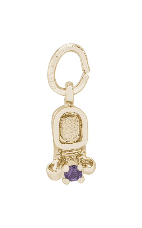 Rembrandt Charms Baby Shoe Charm 0473-06 product image