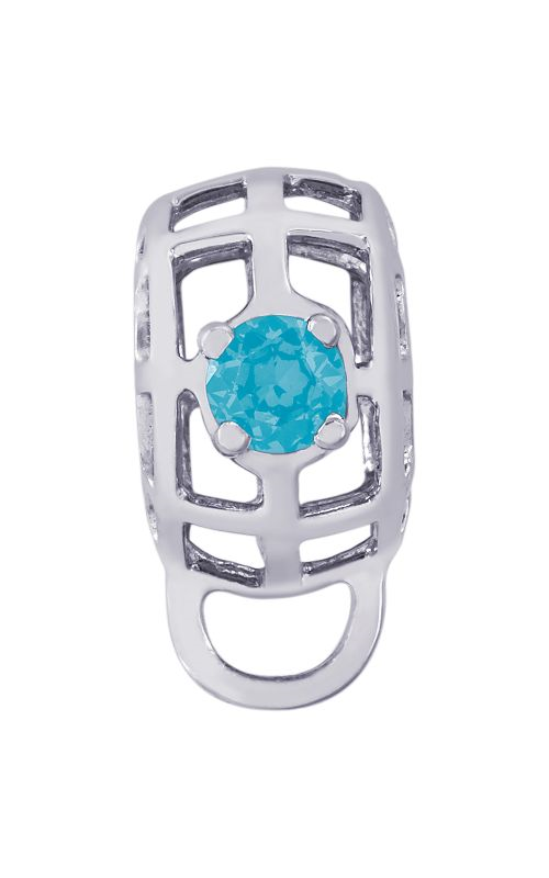 Rembrandt Charms Caged Stone Charmdrop 9181-12 product image