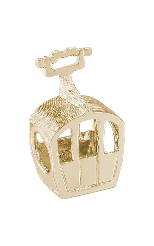 Rembrandt Charms Closed Gondola Bead Charm 9161 product image