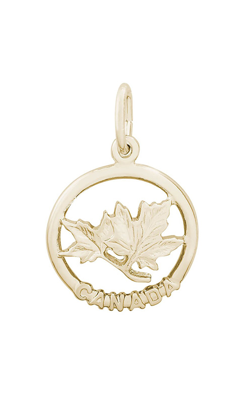 Rembrandt Charms Maple Leaf Charm 0101 product image