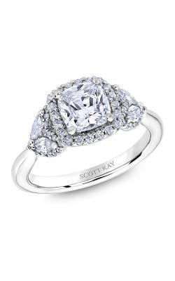 Scott Kay Namaste - 18k White Gold 0.84ctw Diamond Engagement Ring, M2625RM515 product image