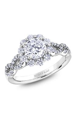 Scott Kay Namaste - 18k White Gold 0.80ctw Diamond Engagement Ring, M2626R510 product image