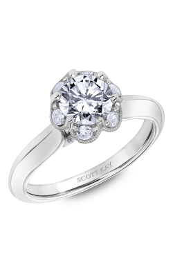 Scott Kay Luminaire - 18k White Gold 0.42ctw Diamond Engagement Ring, 31-SK6027ERP-E product image