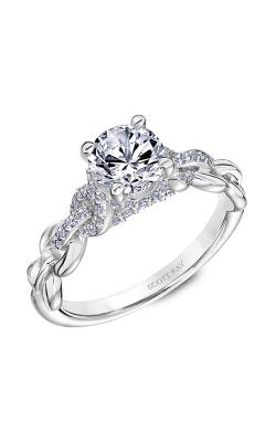 Scott Kay Embrace - 18k White Gold 0.24ctw Diamond Engagement Ring, 31-SK5643ERW-E.02 product image