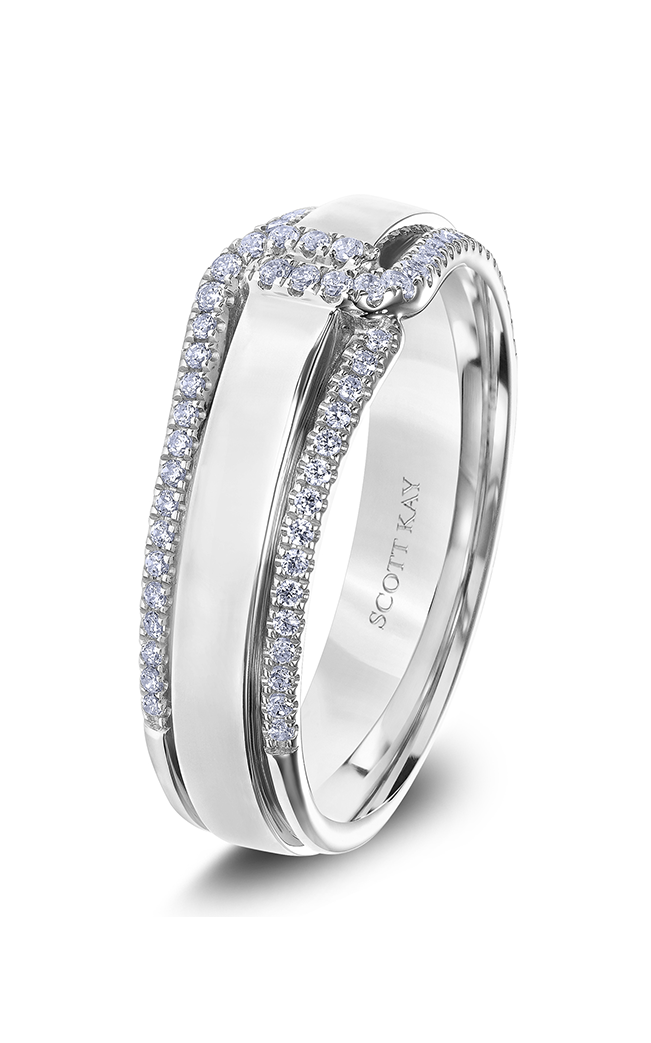 Scott Kay Wedding band G4084CV6 product image