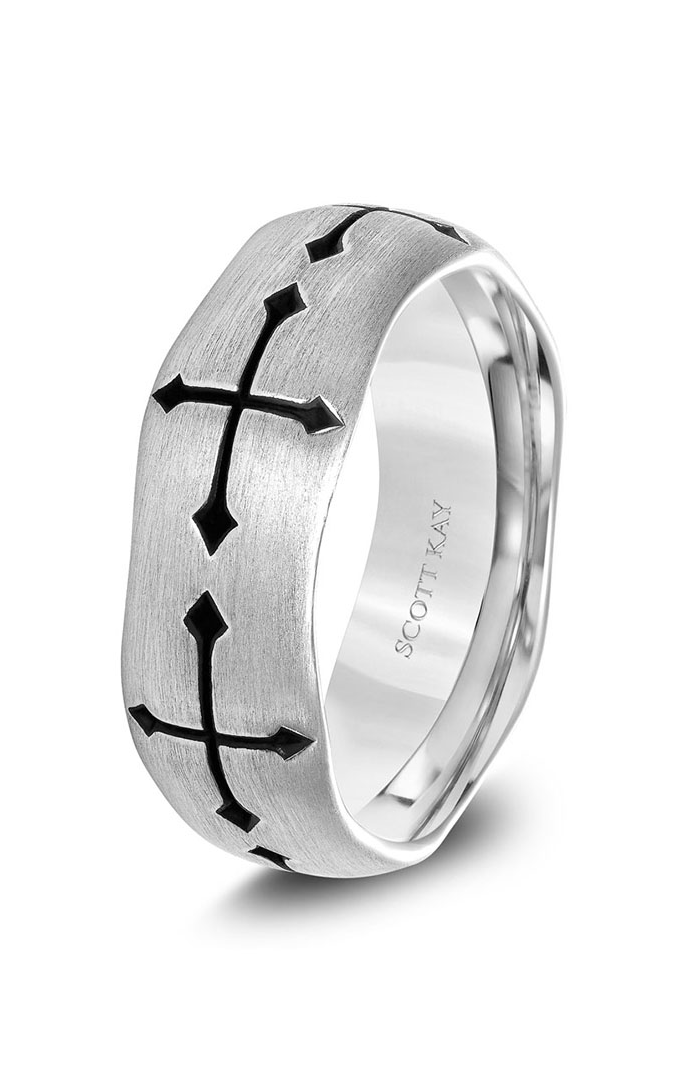 Scott Kay Wedding band G4062SV8 product image