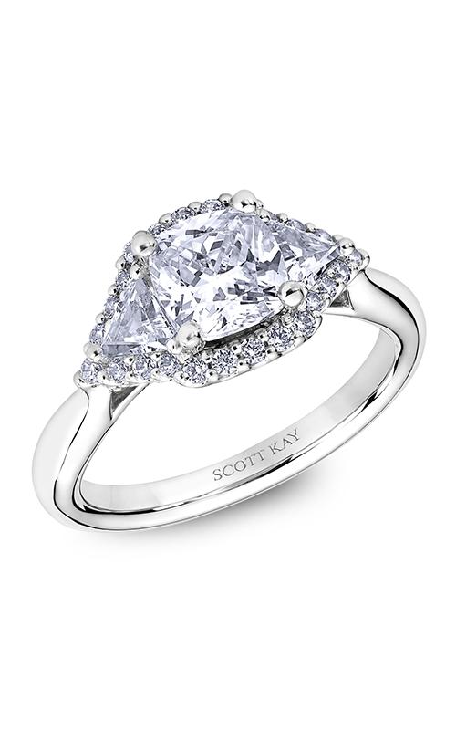 Scott Kay Heaven's Gates - 14k rose gold  Engagement Ring, M2564TR515 product image