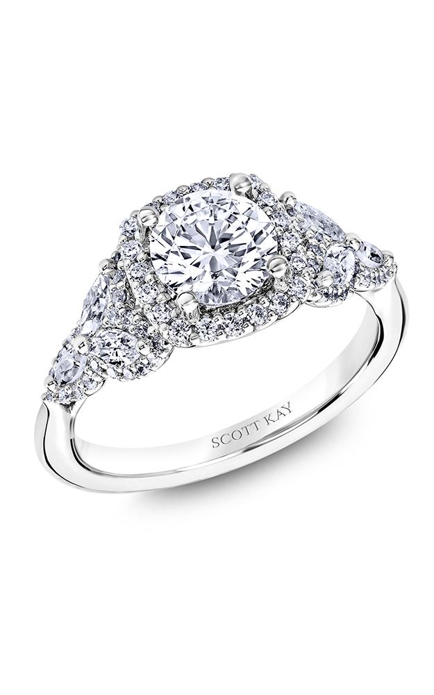 Scott Kay Namaste - 18k rose gold  Engagement Ring, M2574RM515 product image