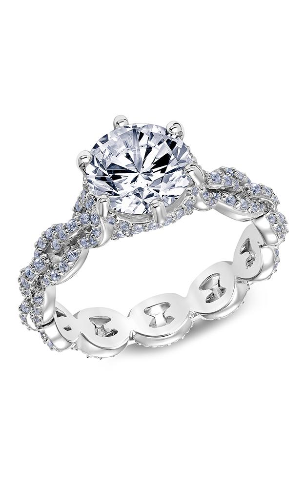 Scott Kay Embrace - Platinum 0.75ctw Diamond Engagement Ring, 31-SK5609HRP-E product image