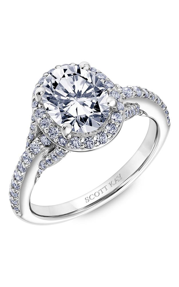 Scott Kay Embrace - 14k white gold 0.65ctw Diamond Engagement Ring, 31-SK5610GVP-E product image