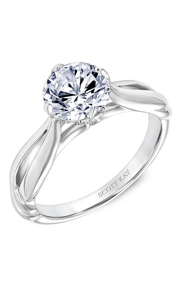 Scott Kay Namaste - 14k white gold  Engagement Ring, 31-SK5614GRP-E product image