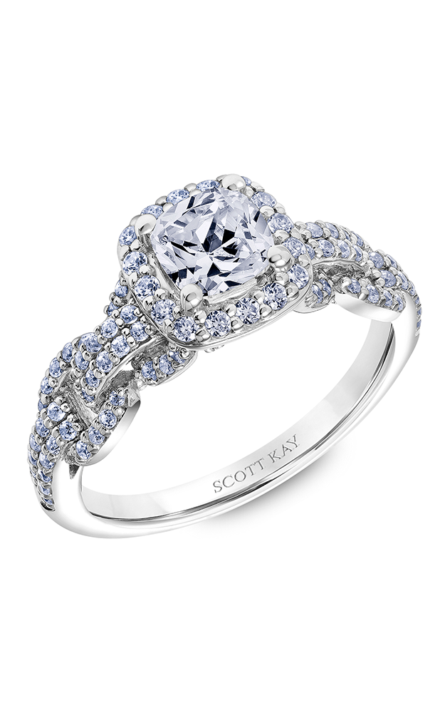 Scott Kay Embrace - 14k rose gold 0.75ctw Diamond Engagement Ring, 31-SK6034EUP-E product image