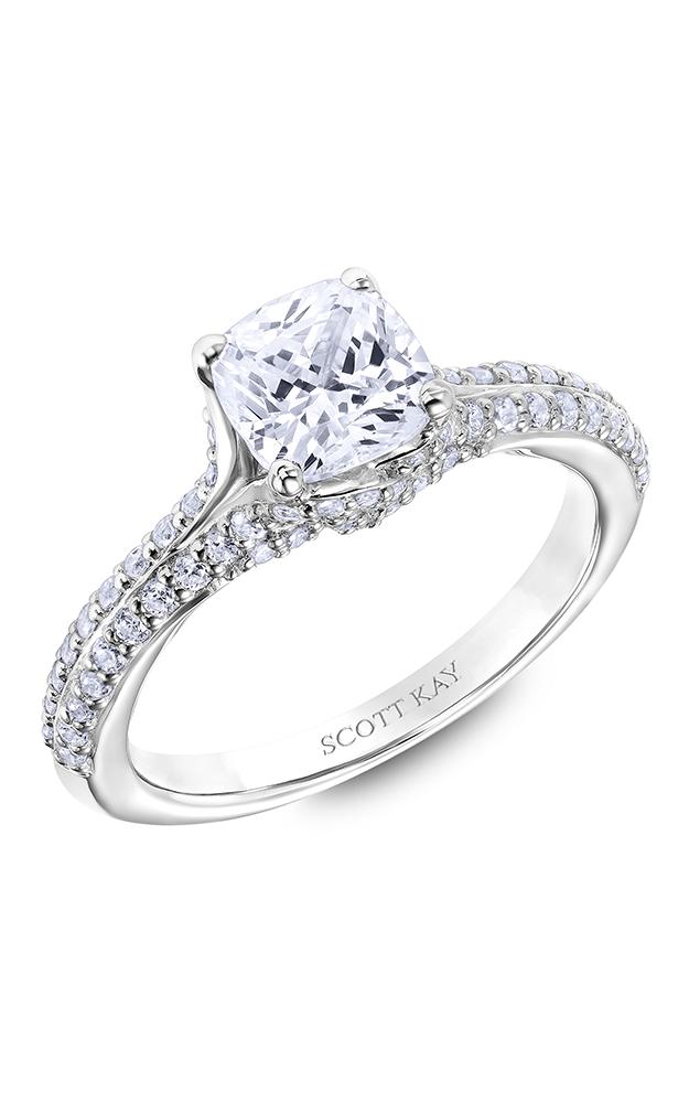 Scott Kay Guardian - Platinum 0.50ctw Diamond Engagement Ring, 31-SK6015GUP-E product image