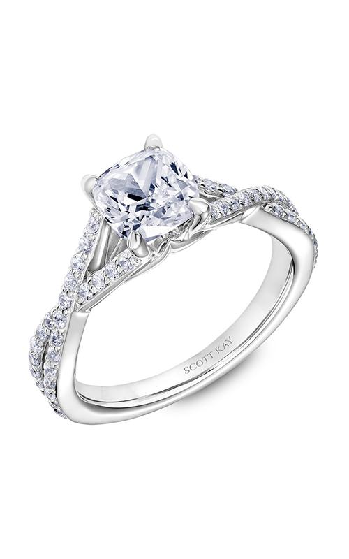 Scott Kay Namaste - 18k white gold 0.36ctw Diamond Engagement Ring, 31-SK5634GUW-E.02 product image