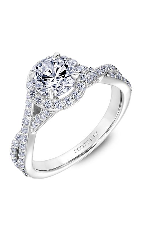 Scott Kay Namaste - 18k rose gold 0.52ctw Diamond Engagement Ring, 31-SK5637ERW-E.02 product image