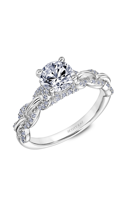Scott Kay Embrace Engagement Ring 31-SK5641ERW-E.02 product image