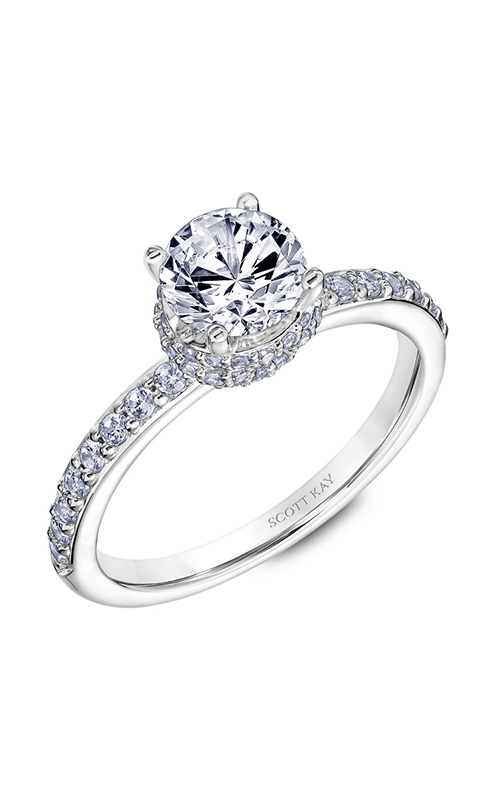 Scott Kay Embrace - Platinum 0.45ctw Diamond Engagement Ring, 31-SK5639ERP-E.00 product image