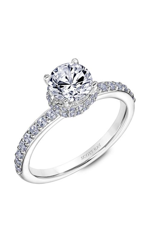 Scott Kay Embrace - 14k white gold 0.45ctw Diamond Engagement Ring, 31-SK5639ERW-E.00 product image