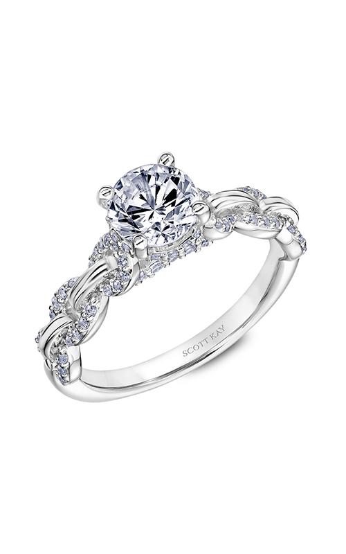 Scott Kay Embrace - 14k white gold 0.33ctw Diamond Engagement Ring, 31-SK5641ERW-E.00 product image