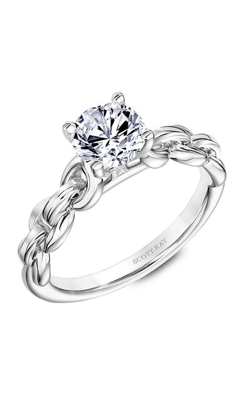 Scott Kay Embrace - 14k white gold  Engagement Ring, 31-SK5642ERW-E.00 product image