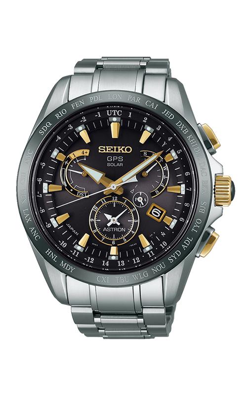 Seiko Astron Solar GPS Dual Time SSE073