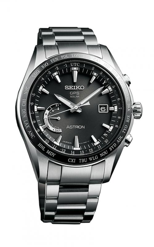 Seiko Astron GPS Solar World Time Watch SSE085