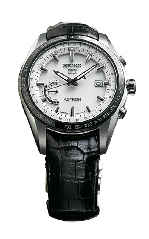 Seiko Astron GPS Solar World Time Watch SSE093
