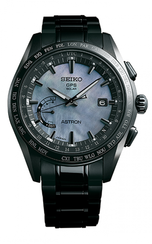 Seiko Astron GPS Solar World Time Watch SSE091
