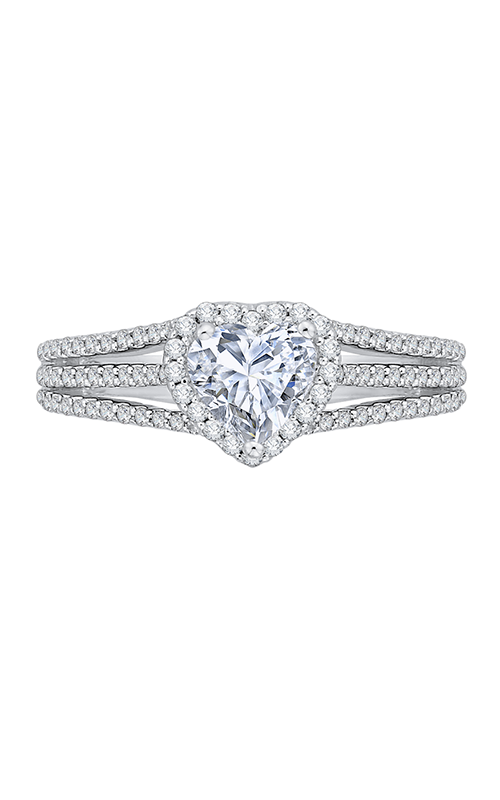 Shah Luxury Carizza Engagement Ring CAH0197EHK-37W product image