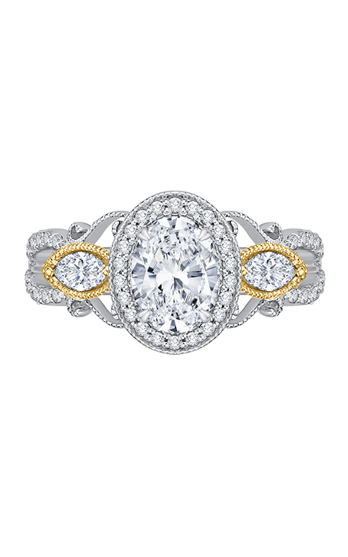Shah Luxury Carizza Engagement Ring CAO0175EHK-37WY product image