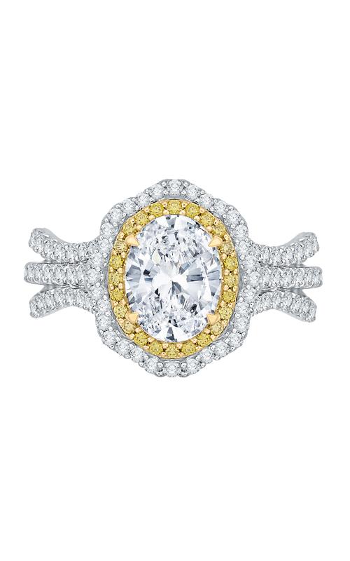 Shah Luxury Carizza Engagement Ring CAO0194EYLK-37WY-1.5 product image