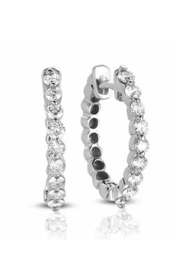 S Kashi & Sons Hoop Earrings E7665WG product image
