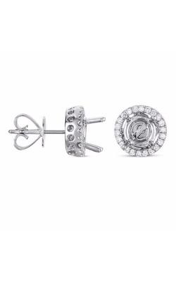 S Kashi & Sons Halo Earrings E7740WG product image