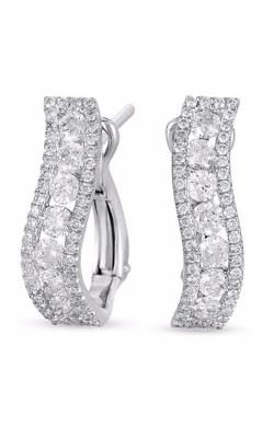 S Kashi & Sons Fashion Earrings E7729WG product image