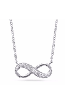 S Kashi & Sons Infinity Necklace N1203WG product image
