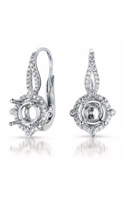 S. Kashi and Sons Halo Earrings E7792-50WG product image